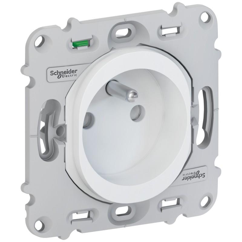 schneider s261059  prise de courant composable ovalis